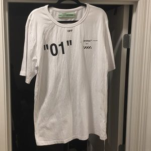 Off white shirt